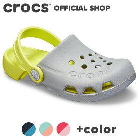 【クロックス公式】エレクトロ キッズ Electro / crocs クロッグ サンダル 定番 ベストセラー アウトレット outlet 【PR1】