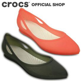 【クロックス公式】リオ フラット Rio Flat / crocs パンプス フラットシューズ レディース アウトレット outlet 【PR2】