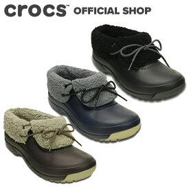 【クロックス公式】ブリッツェン ラックス コンバーチブル クロッグ Blitzen Luxe Convertible Clog/ crocs スニーカー ブーツ シューズ ボア付 冬用 レディース メンズ 【PR1】