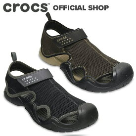 【クロックス公式】スウィフトウォーター アウトレット サンダル メン Swiftwater Outlet Sandals / crocs メンズ スポーツサンダル ウォーターシューズ マリンシューズ アクアシューズ 水陸両用【PR2】