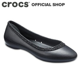 【クロックス公式】クロックス リナ ディアマンテ フラット ウィメン Lina Diamante Flat / crocs レディース パンプス フラットシューズ