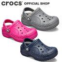 【クロックス公式】バヤ ラインド クロッグ キッズ Baya Lined Clog / crocs サンダル ボア付 冬【PR1】