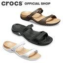 【クロックス公式】クレオ サンダル Cleo Sandal / crocs サンダル レディース アウトレット outlet ぺたんこ【PR1】
