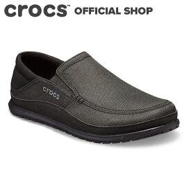 【クロックス公式】サンタクルーズ プラヤ スリップオン メン Santa Cruz Playa Slip-On / crocs メンズ スニーカー ローファー スリッポン 【OOL】