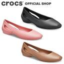 【クロックス公式】クロックス スローン フラット ウィメン Sloane Flat / crocs レディース パンプス フラットシュー…