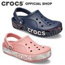 【クロックス公式】バヤバンド バンダナ プリンテッド クロッグ Bayaband Bandana Printed Clog / crocs レディース …
