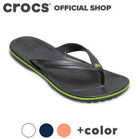 【クロックス公式】クロックバンド フリップ Crocband Flip / crocs ビーチサンダル レディース メンズ 【PR3】