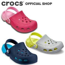 【クロックス公式】エレクトロ クロッグ キッズ Electro Clog / crocs クロッグ サンダル 定番 ベストセラー アウトレット outlet 【PR1】