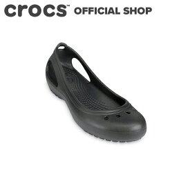 【クロックス公式】カディ Kadee / crocs パンプス フラットシューズ レディース ベストセラー 【PR1】