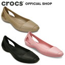 【クロックス公式】シエンナ フラット / crocs パンプス フラットシューズ レディース アウトレット outlet 【PR1】