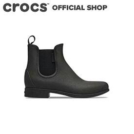 【クロックス公式】レイ チェルシー レイン ブーツ Leigh Chelsea Rain Boot/ crocs レディース 長靴 長ぐつ Rain【OL】