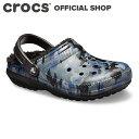 【クロックス公式】クラシック ラインド グラフィック 2.0 クロッグ / crocs サンダル ボア付 冬用 レディース メンズ…