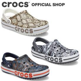 【クロックス公式】バヤバンド プリンテッド クロッグ Bayaband Printed Clog / crocs レディース メンズ サンダル 定番【PR1】
