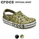 【クロックス公式】バヤバンド シーズナル プリンテッド クロッグ Bayaband Seasonal Printed Clog / crocs レディー…