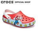 【クロックス公式】ファン ラブ ライツ スーパー マリオ クロッグ キッズ Fun Lab Super Mario Lights Clog / crocs サンダル 定番【PR3】