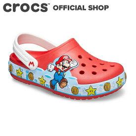 【クロックス公式】ファン ラブ ライツ スーパー マリオ クロッグ キッズ Fun Lab Super Mario Lights Clog / crocs サンダル 定番【NO】