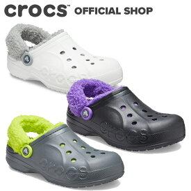 【クロックス公式】バヤ ラインド ファズ ストラップ クロッグ Baya Lined Fuzz-Strap Clog / crocs レディース メンズ サンダル ボア付 冬