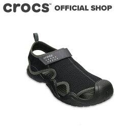 【クロックス公式】スウィフトウォーター アウトレット サンダル メン Swiftwater Outlet Sandals / crocs メンズ スポーツサンダル ウォーターシューズ マリンシューズ アクアシューズ 水陸両用【OL】