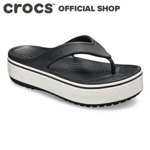 【クロックス公式】クロックバンド プラットフォーム フリップ Crocband Platform Flip / crocs レディース メンズ ビーチサンダル【OL】