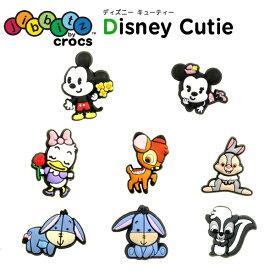 ジビッツ(jibbitz) ディズニー キューティー(Disney Cutie) クロックス/シューズアクセサリー/ミッキー/キャラクター[RED][C/A-2]