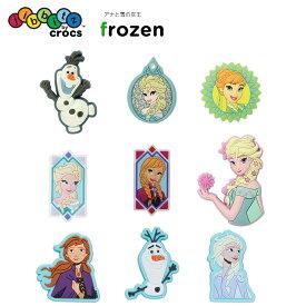 ジビッツ(jibbitz) ディズニー アナと雪の女王 オラフ(Frozen Olaf) クロックス/シューズアクセサリー/キャラクター[RED][C/A-2]