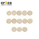 ジビッツ(jibbitz) ゴールドレターA-M(gold letter A-M) クロックス/シューズアクセサリー/イニシャル/アルファベット…