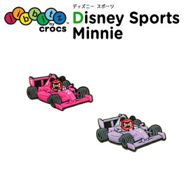 ジビッツ(jibbitz) ディズニー スポーツ ミニー(Minnie) クロックス/シューズアクセサリー/キャラクター[RED][C/A-2]