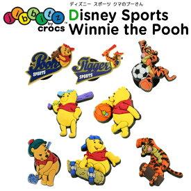 ジビッツ(jibbitz) ディズニー スポーツ クマのプーさん(Winnie The Pooh) クロックス/シューズアクセサリー/キャラクター[RED][C/A-2]