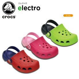 【送料無料対象外】【70%OFF】クロックス(crocs) エレクトロ(electro)キッズ/サンダル/シューズ/子供用[H][C/A]