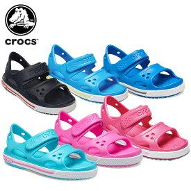 【20%OFF】クロックス(crocs) クロックバンド 2.0 サンダル PS(crocband 2.0 sandal PS) キッズ/サンダル/シューズ/子供用[H][C/A]