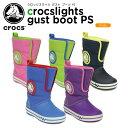 【20%OFF】クロックス(crocs) クロックスライツ ガスト ブーツ PS(crocslights gust boot PS) /キッズ/ブーツ/シューズ...