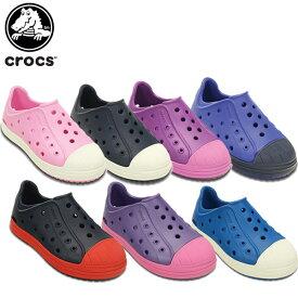 【送料無料対象外】【50%OFF】クロックス(crocs) クロックス バンプ イット シュー キッズ(crocs bump it shoe k) キッズ/サンダル/子供用[H][C/A]