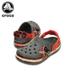 【45%OFF】クロックス(crocs) クロックバンド スター・ウォーズ カイロ・レン (ヴィラン) クロッグ キッズ(crocband star wars kylo ren clog kids) キッズ/サンダル/シューズ/子供用[C/A]