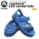 クロックス(crocs) クロックバンド 2.0 LED サンダル キッズ(crocband 2.0 LED sandal kids)/キッズ/サンダル/シュ…