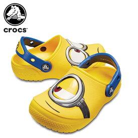 【15%OFF】クロックス(crocs) クロックス ファン ラブ ミニオンズ クロッグ キッズ(crocs fun lab Minions clog kids) キッズ/サンダル/シューズ/子供用[H][C/A]