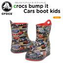 【20%OFF】クロックス(crocs) クロックス バンプ イット カーズ ブーツ キッズ(crocs bump it Cars boot kids) /キッ…