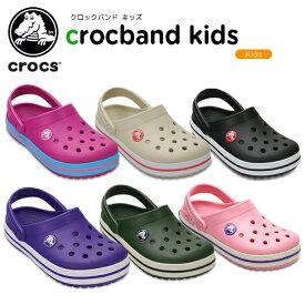 【28%OFF】クロックス(crocs) クロックバンド キッズ/ホールサイズ(crocband kids) キッズ/サンダル/シューズ/子供用[H][C/A]【ポイント10倍対象外】