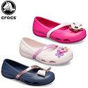 【20%OFF】クロックス(crocs) クロックス リナ チャーム フラット キッズ(crocs lina charm flat kids ) キッズ/サン…