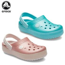 【20%OFF】クロックス(crocs) クロックバンド アイス ポップ クロッグ キッズ(crocband ice pop clog kids ) キッズ/サンダル/シューズ/子供用/厚底[C/A]