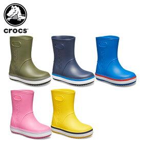 【20%OFF】クロックス(crocs) クロックバンド レイン ブーツ キッズ(crocband rain boot kids) キッズ/長靴/シューズ/子供用[C/A][H]【ポイント10倍対象外】