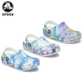 【ポイント10倍】クロックス(crocs) クラシック アウト オブ ディス ワールド クロッグ キッズ(classic out of this world 2 clog kids) キッズ/サンダル/シューズ/子供用[C/A]