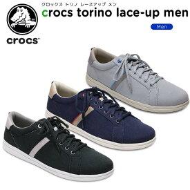【50%OFF】クロックス(crocs) クロックス トリノ レースアップ メン(crocs torino lace-up men) メンズ/男性用/スニーカー/シューズ[C/B]