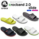 【21%OFF】クロックス(crocs) クロックバンド 2.0 スライド(crocband 2.0 slide) /メンズ/レディース/男性用/女性用/サンダ...