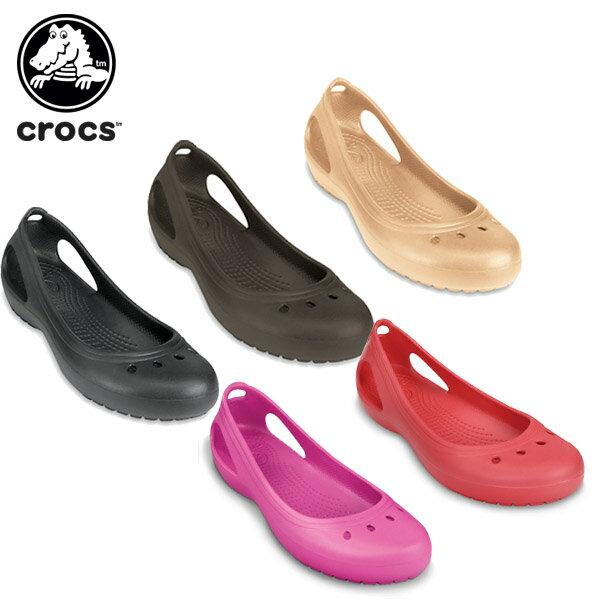 クロックス(crocs) カディ (kadee) /レディース/女性用/サンダル/シューズ/フラットシューズ/[H][r][C/A]【30】【ポイント10倍対象外】