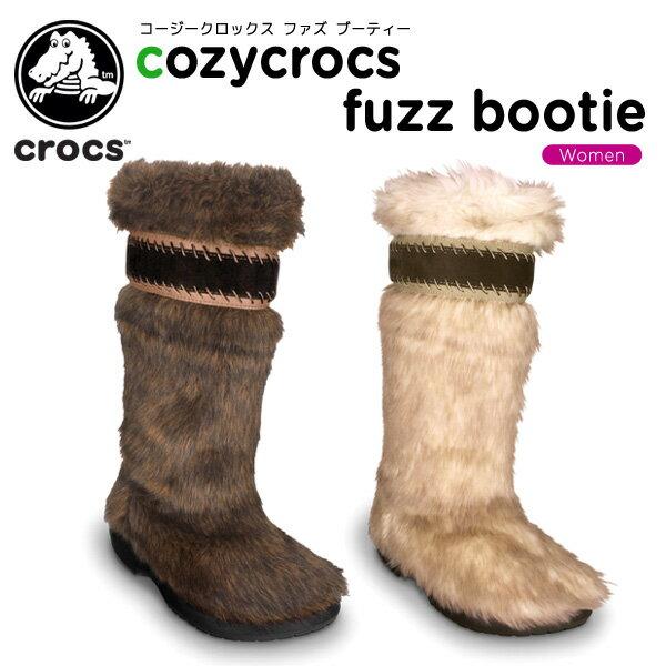 クロックス(crocs) コージークロックス ファズ ブーティー (cozycrocs fuzz bootie) /レディース/女性用/シューズ/ブーツ/[r][C/D]【61】【ポイント10倍対象外】
