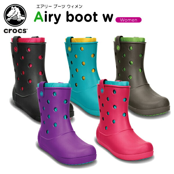 【50%OFF】クロックス(crocs) クロックバンド エアリー ブーツ ウィメン(crocband airy boot w)/レディース/ブーツ/[r][C/C]【ポイント10倍対象外】