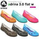 【30%OFF】クロックス(crocs) アドリナ 3.0 フラット ウィメン(adrina 3.0 flat w) /レディース/女性用/シューズ/フラットシューズ/[r]【ポイント10倍対象外】