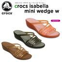 クロックス(crocs) クロックス イザベラ ミニ ウェッジ ウィメン(crocs isabella mini wedge w) /レディース/女性用/シューズ/ウェッジソール/【30】[r]【ポイ