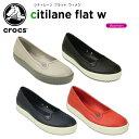 クロックス(crocs) シティレーン フラット ウィメン(citilane flat w) /レディース/女性用/シューズ/フラットシューズ[r]【30】【ポイント10倍対象外】