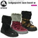 【50%OFF】クロックス(crocs) ロッジポイント レース ブーツ ウィメン(lodgepoint lace boot w) レディース/ブーツ[C…